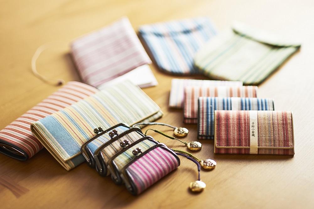 手紡小倉織(ブックカバー/カード入れ/ペン入れ)